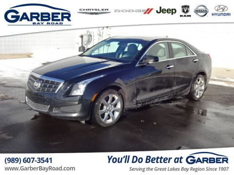 Pre-Owned 2013 Cadillac ATS 2.0L Turbo Luxury AWD