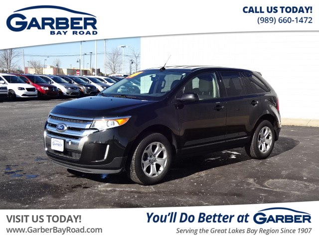 pre-owned 2014 ford edge sel suv in saginaw #71a47126p | garber nissan