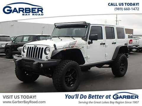 Pre-Owned 2016 Jeep Wrangler Unlimited Sahara 4WD