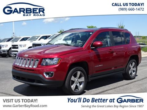 Pre-Owned 2017 Jeep Compass Latitude 4WD