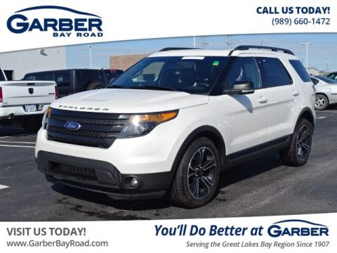 Pre-Owned 2015 Ford Explorer Sport 4WD