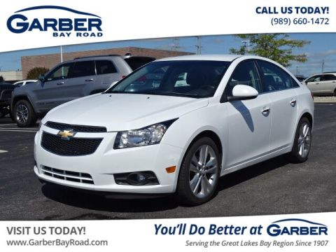 Pre-Owned 2012 Chevrolet Cruze LTZ FWD Sedan