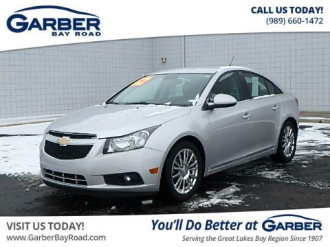Pre-Owned 2012 Chevrolet Cruze ECO FWD Sedan