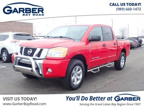 Pre-Owned 2011 Nissan Titan SV 4WD