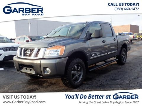 Pre-Owned 2015 Nissan Titan PRO-4X 4WD