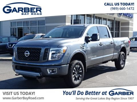 New 2019 Nissan Titan XD PRO-4X Diesel With Navigation & 4WD