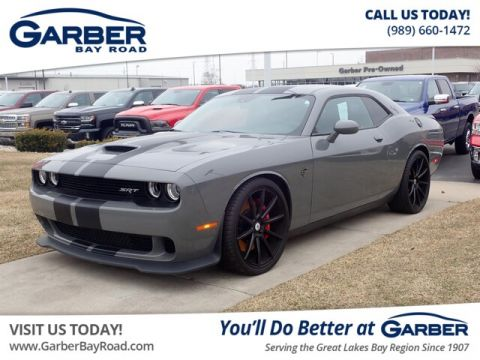 Pre-Owned 2017 Dodge Challenger SRT Hellcat With Navigation