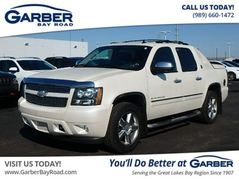 Pre-Owned 2013 Chevrolet Avalanche LTZ Black Diamond 4WD