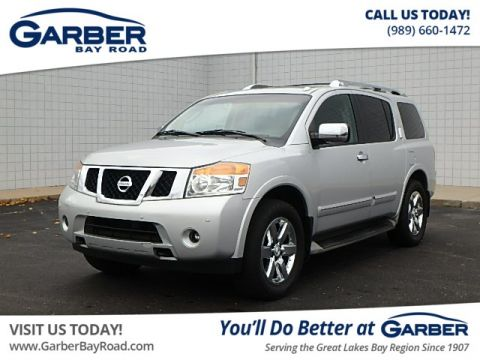 Pre-Owned 2012 Nissan Armada Platinum 4WD