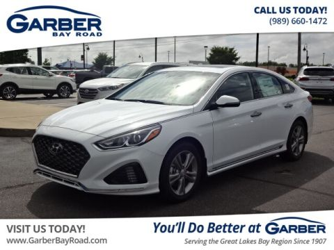 Pre-Owned 2018 Hyundai Sonata Sport+ FWD Sedan